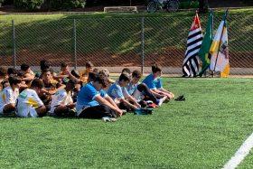 Secretaria de Esportes inaugura mini campo de grama sintética em Novo Horizonte