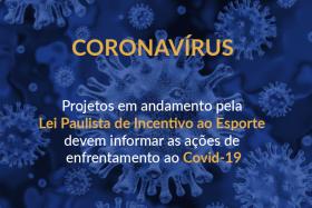 COMUNICADO – Ações de projetos em andamento pela LPIE devem ser informadas à Secretaria de Esportes
