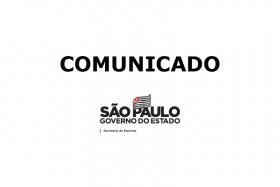Comunicado – Suspensão das Atividades Presenciais